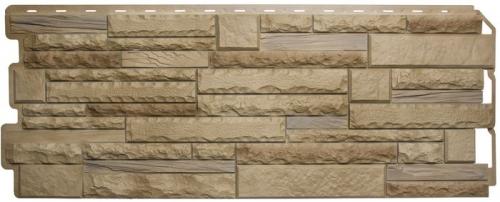 Фасадная панель «Скалистый камень Альпы комби»