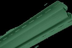 """Планка """"внутренний угол"""", 3м, цвет Зелёный"""